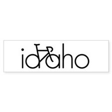 Bike Idaho Bumper Sticker
