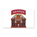 US Army Sapper Combat Enginee Car Magnet 20 x 12