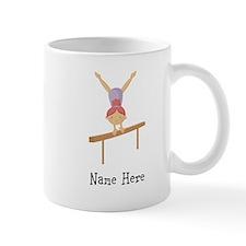 gymnast on beam Mug