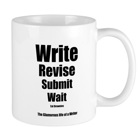 Write Revise Submit Wait Mug