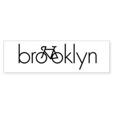 Bike Brooklyn Bumper Sticker