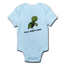 Turtle Personalized Infant Bodysuit