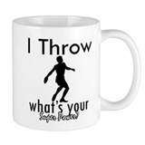 I Throw Coffee Mug