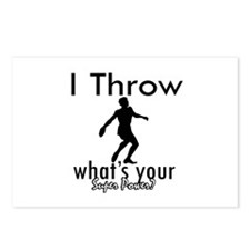 I Throw Postcards (Package of 8)