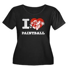 I love Paintball T