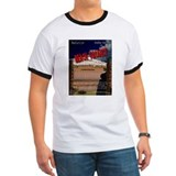 Beach Vacancy Poster Tee-Shirt