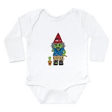 Zombie Gnome Long Sleeve Infant Bodysuit