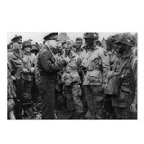 Dwight Eisenhower briefs the 101st, D-Day
