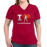 I love Racquet ball Shirt