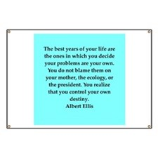 Albert Ellis quote Banner