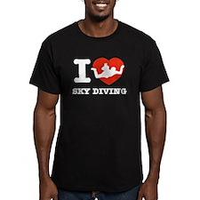 I love Sky diving T
