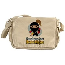 Teachers Are Brain Ninjas Messenger Bag