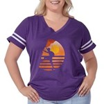 Yantra #3 - Hearts Women's Cap Sleeve T-Shirt