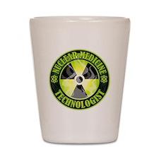 Nuclear Medicine Technologist Shot Glass