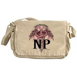 Nurse Practitioner Caduceus P Messenger Bag