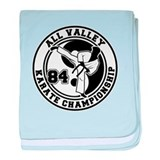 All Valley Karate Championshi baby blanket