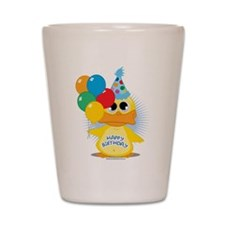 Happy Birthday Duck Shot Glass
