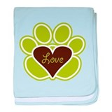 Puppy Love baby blanket