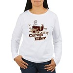 Cereal Killer Women's Long Sleeve T-Shirt