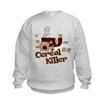 Cereal Killer Kids Sweatshirt
