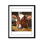 Cow 1 Framed Panel Print