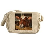 Cow 1 Messenger Bag