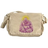 HAPPY BUDDHA Messenger Bag