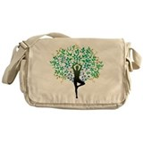 TREE POSE YOGA Messenger Bag