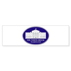 Emblem - The White House Sticker (Bumper)