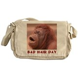 BAD HAIR DAY Messenger Bag