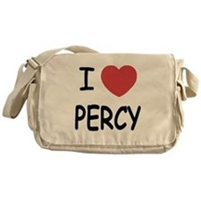 I heart Percy Messenger Bag