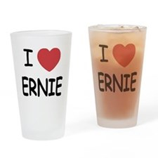 I heart Ernie Drinking Glass