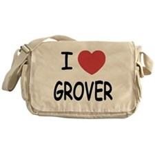 I heart Grover Messenger Bag