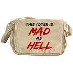 MAD AS HELL b Messenger Bag