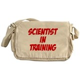 scientist in training Messenger Bag