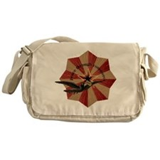 Peace Through Commerce Messenger Bag