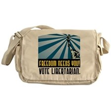 Freedom Need You Messenger Bag