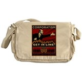 Corporatism Bernanke Messenger Bag
