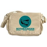 Rothbardian Blue Messenger Bag
