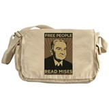 Free People Read Mises Messenger Bag
