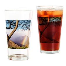 Mountain Rainbow Drinking Glass