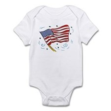 Grand Old Flag Infant Creeper