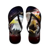 Unique Eagle Flip Flops