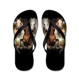 Cute Animals wildlife Flip Flops