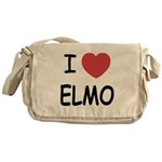 I heart elmo Messenger Bag