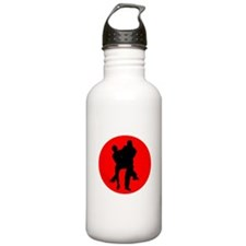 Red Moon Dancers Water Bottle