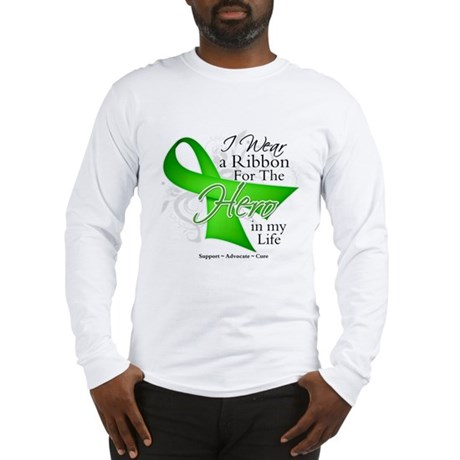 Non-Hodgkin's Lymphoma Hero i Long Sleeve T-Shirt