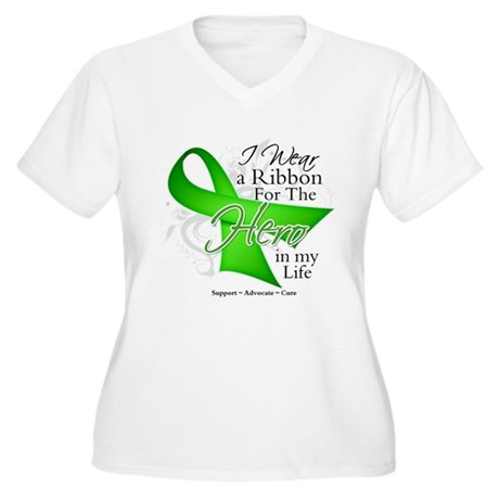 Non-Hodgkin's Lymphoma Hero i Women's Plus Size V-