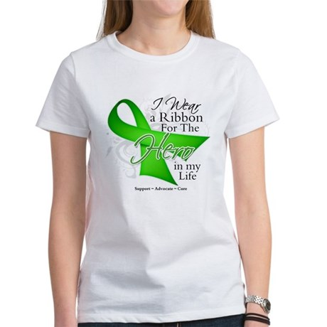 Non-Hodgkin's Lymphoma Hero i Women's T-Shirt