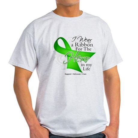 Non-Hodgkin's Lymphoma Hero i Light T-Shirt
